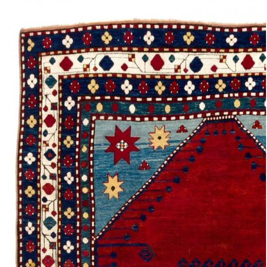 Antique Caucasian Lori Pambak Kazak Rug