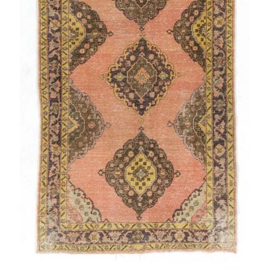 Authentic Handmade Anatolian Runner Rug