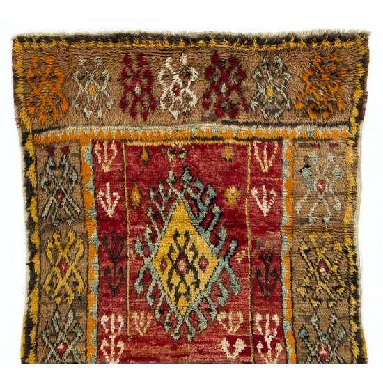 Antique Central Anatolian Village Rug