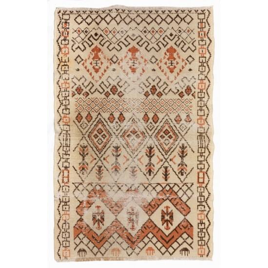 An Unusual Antique Turkish Rug