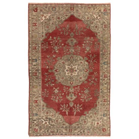 Antique Turkish Bergama Rug, One of a Kind Wool Carpet, circa 1920. 100% Wool